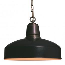 landelijk hanglamp zwart