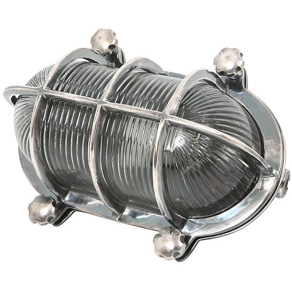 Stoere schuurlamp in antiek zilver voor buiten ip54 for Stoere industriele wandlampen