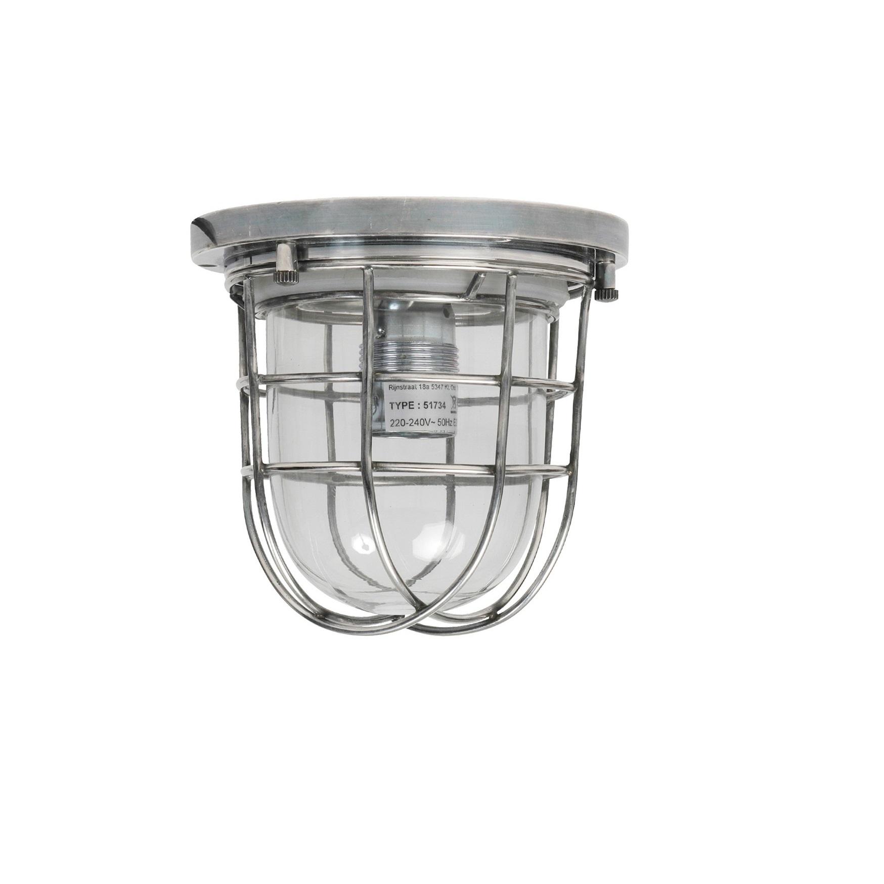badkamerlamp zilver