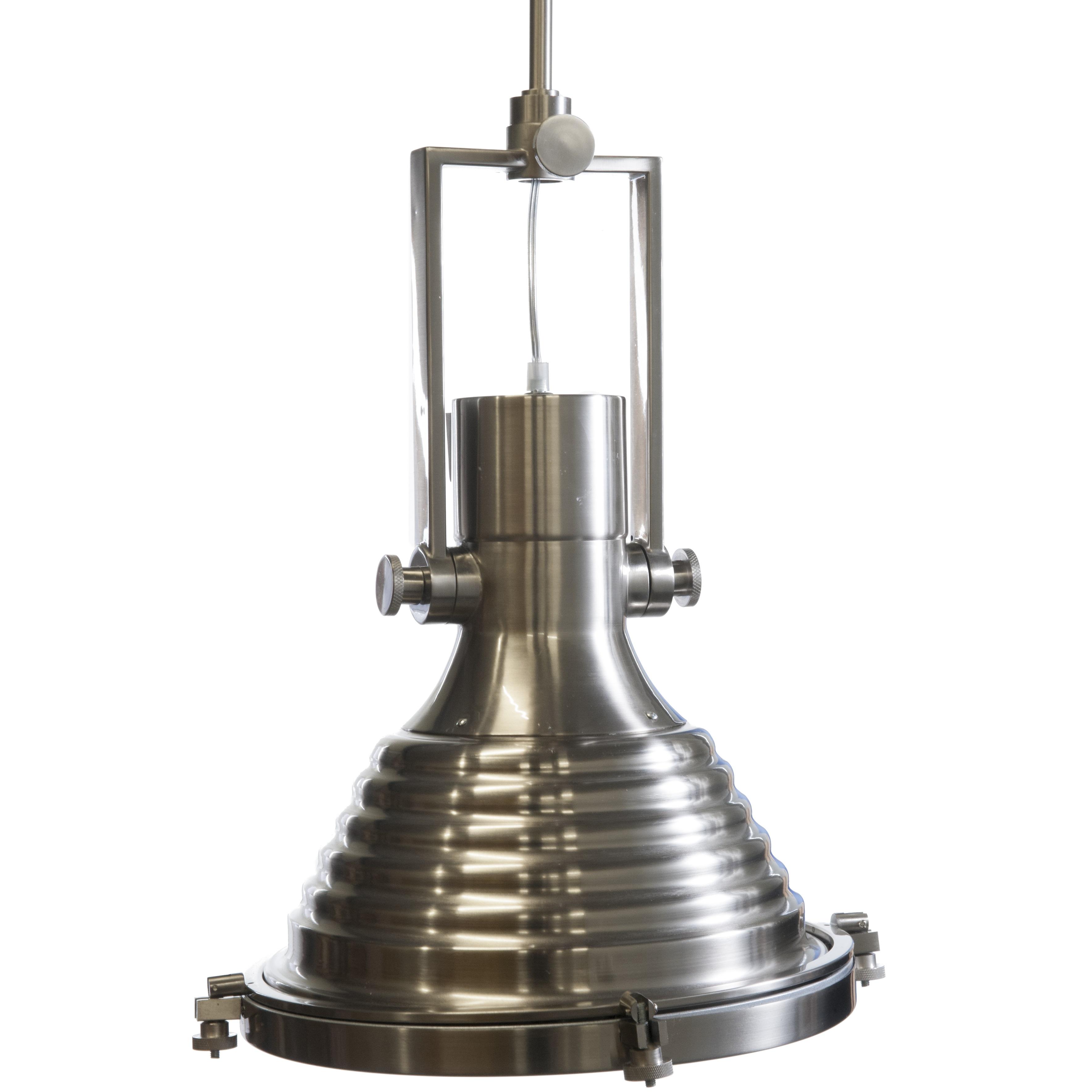 Hanglamp nikkel kopen op for Kleine industriele hanglamp
