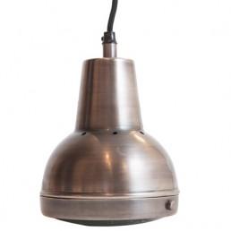 Kleine Hanglamp Zilver Glas DC-1003