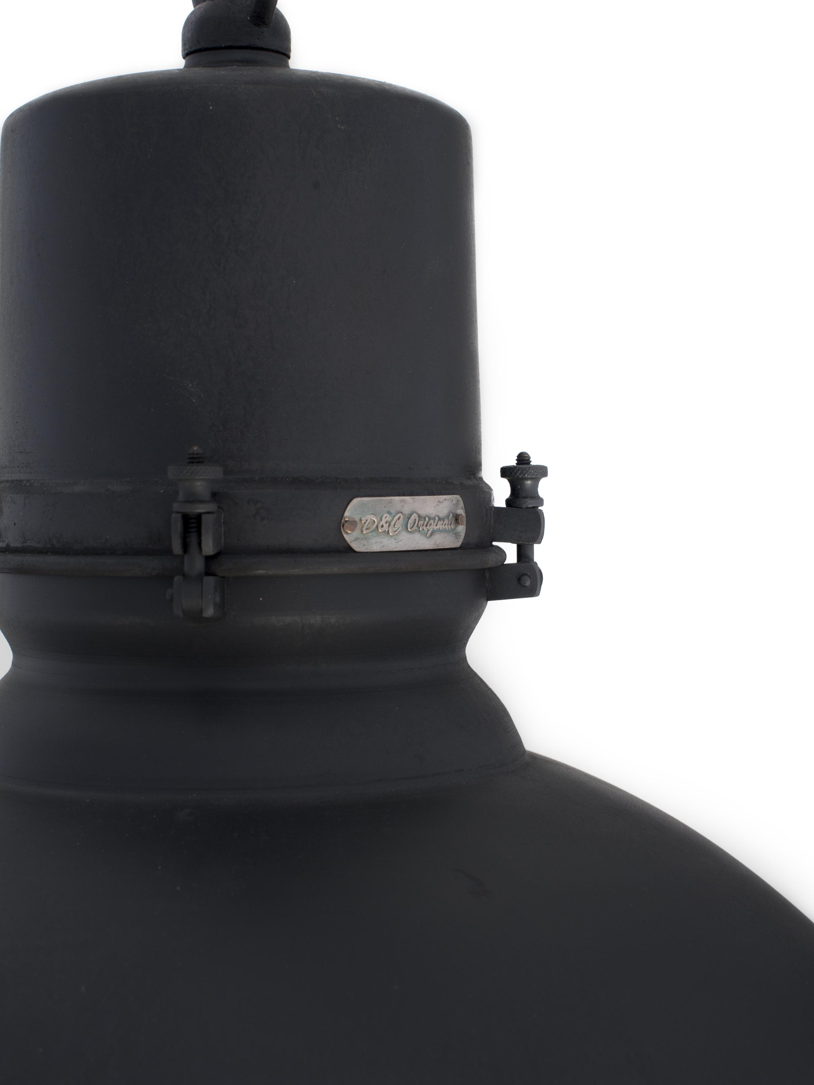 Industriele Keuken Particulier : Home > Producten > Grote lampen > Grote Fabriekslamp Zwart DU-1003