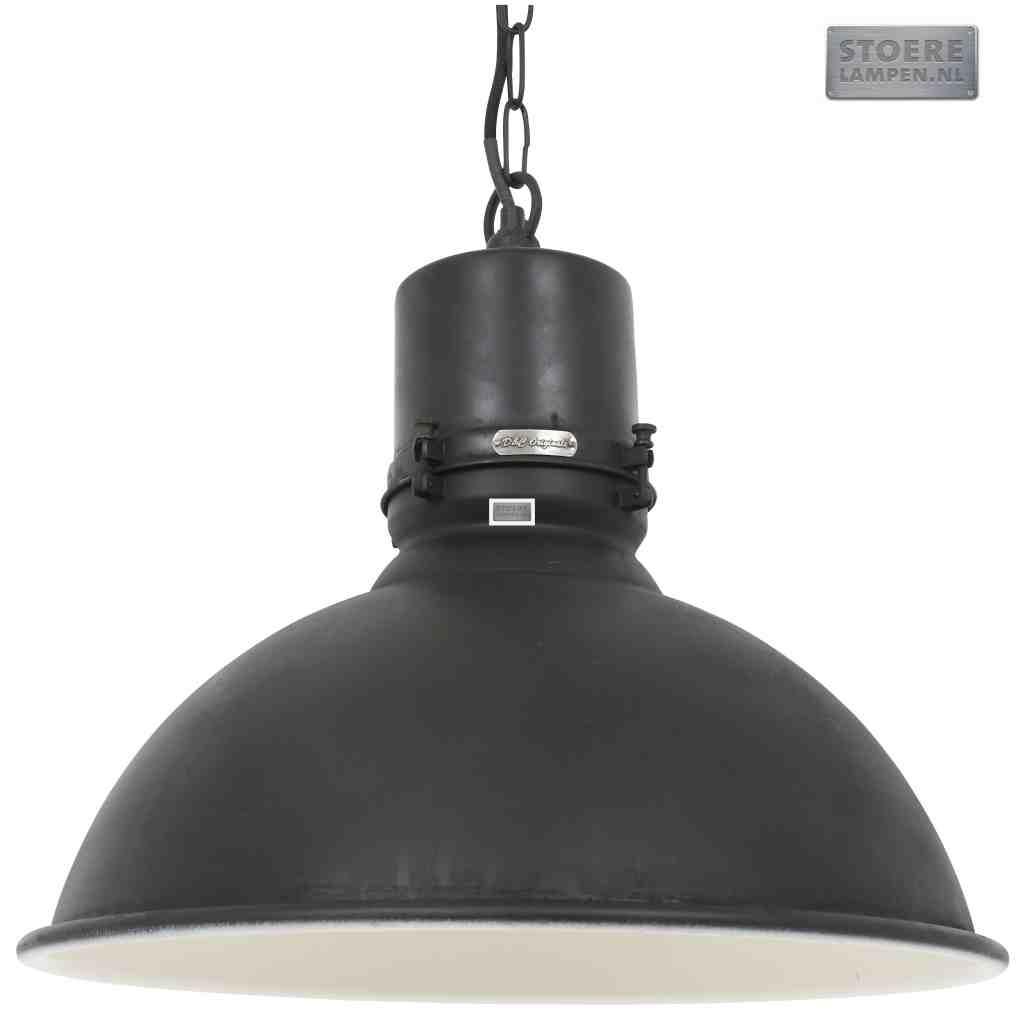 Grote fabriekslamp zwart online kopen for Industriele schemerlamp