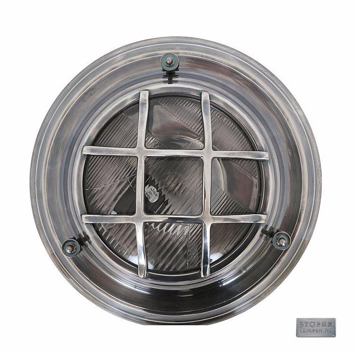 Zilveren plafondlamp online kopen bij for Stoere industriele wandlampen