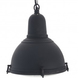 Zwarte Landelijke Hanglamp DU-1002