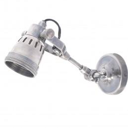 Zilveren Wandlamp DU-2001