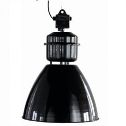 Grote Zwarte Fabriekslamp