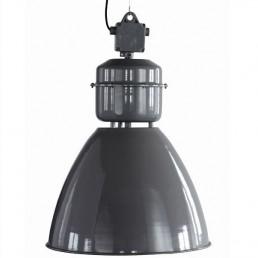 grijze fabriekslamp