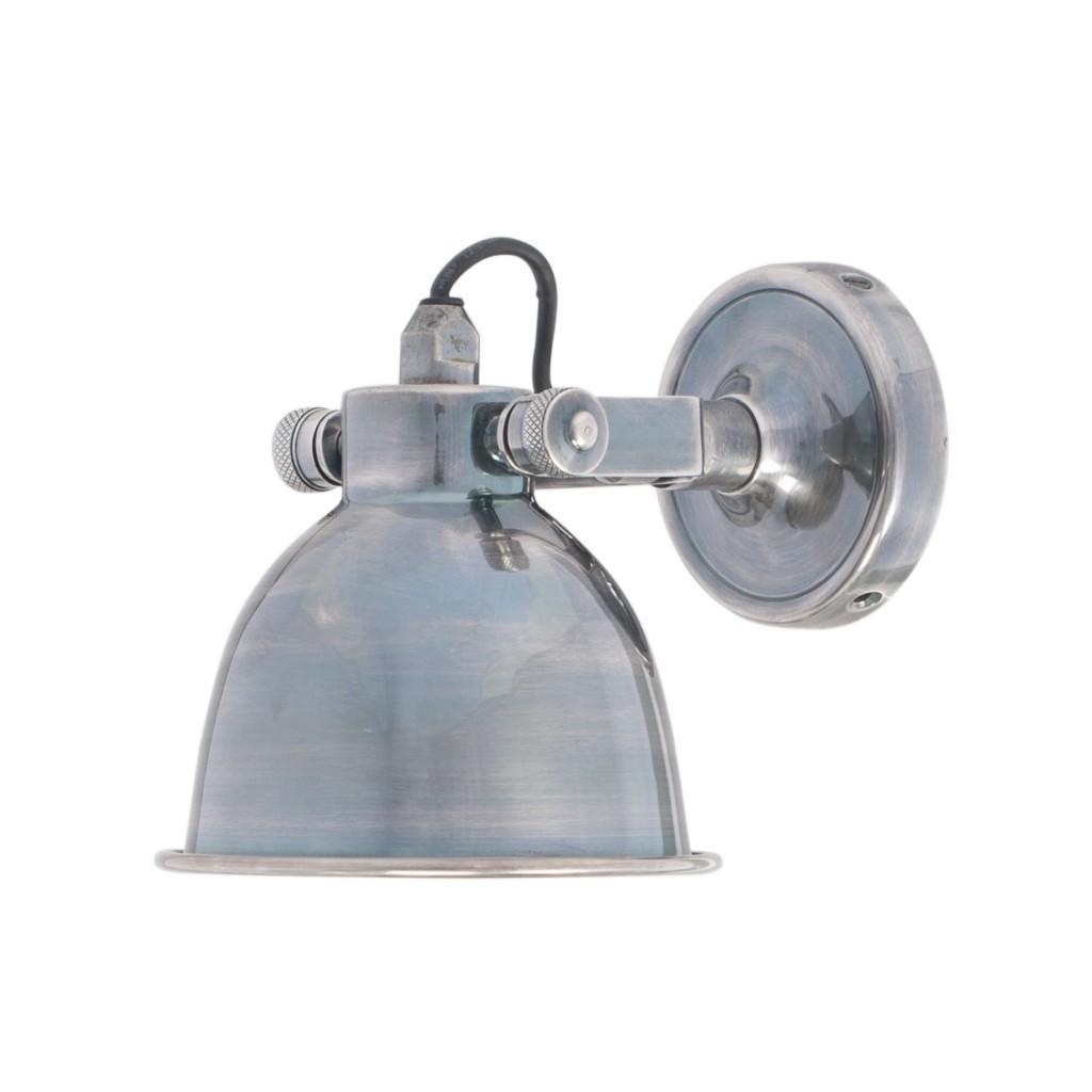 Wandlamp zilver bestellen online kopen op for Stoere industriele wandlampen