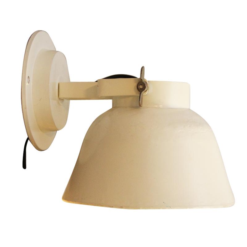 Beige wandlamp