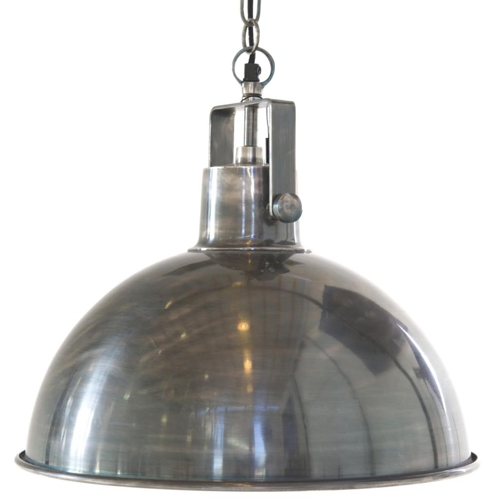 Landelijke zilveren keukenlamp kopen op for Landelijke lampen