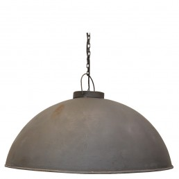 stoere hanglamp zink