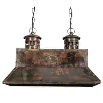 Koperen Scheepslamp
