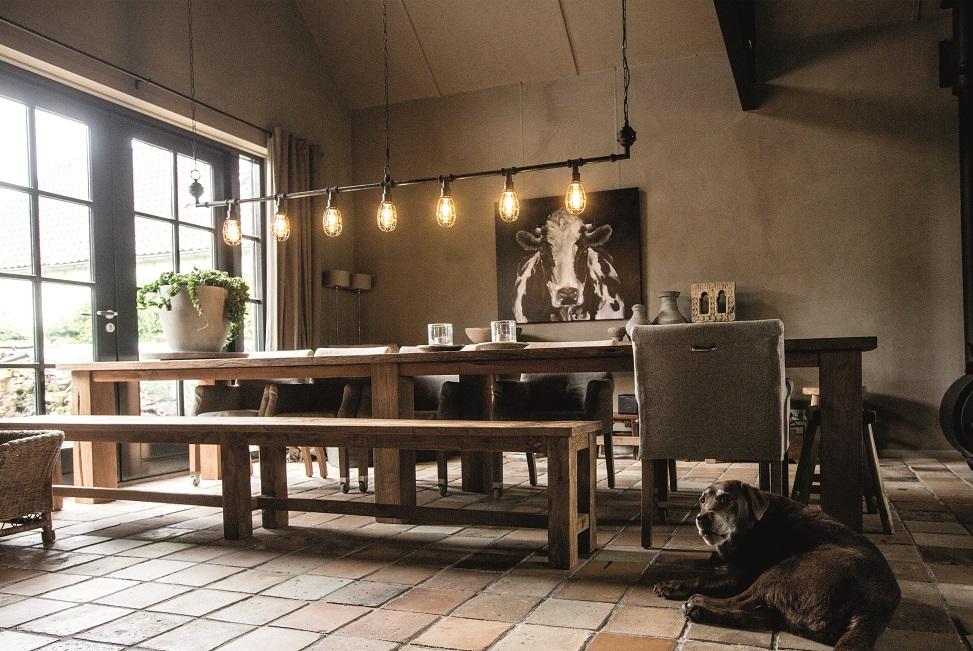 Uitgelezene Buis hanglamp. Koop 'm bij webshop Stoerelampen.nl MO-33