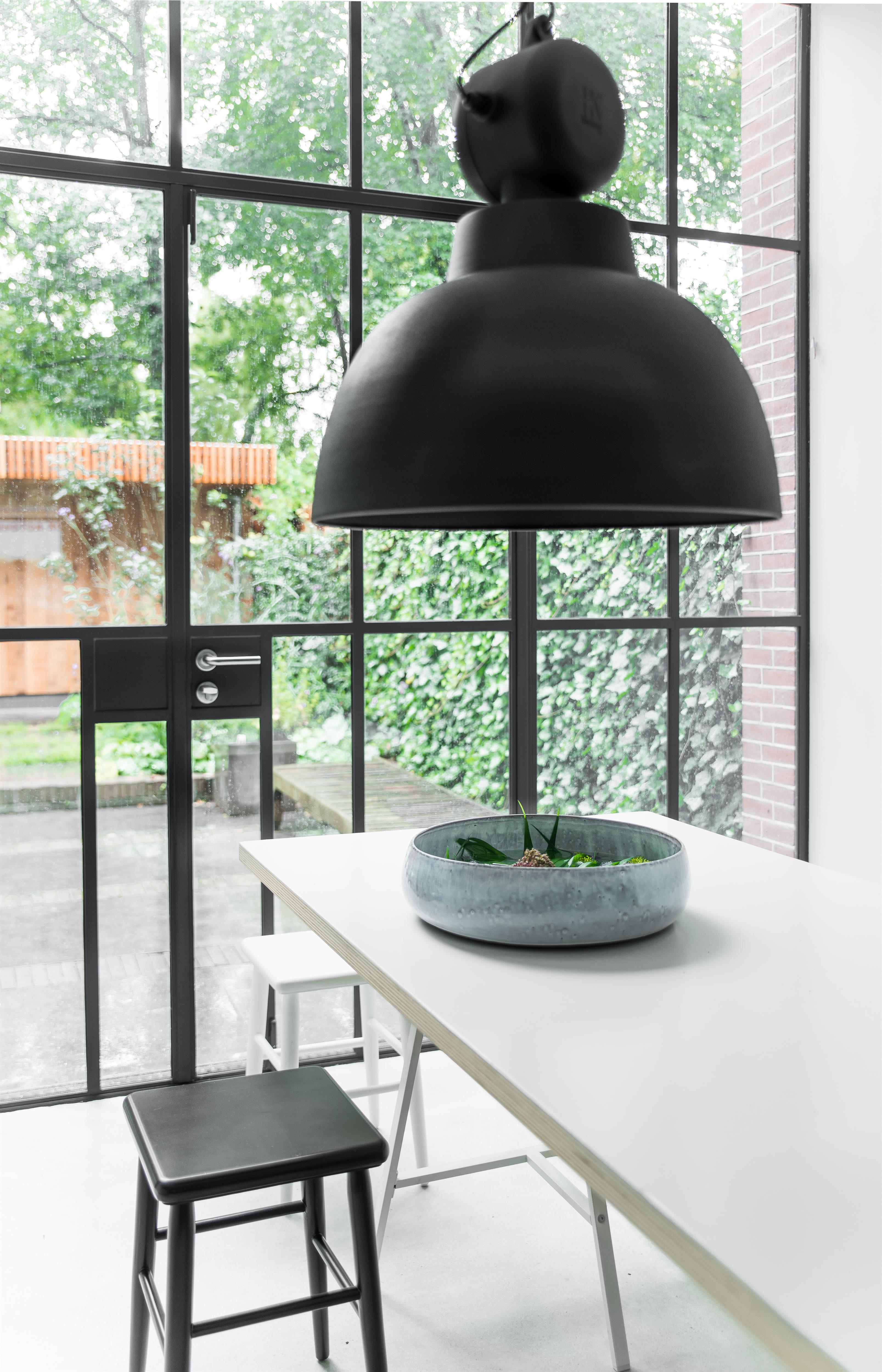 Keukenlamp Landelijk : Rustieke Zandkleurige Lamp HK-1007 Bestseller! Hanglamp in grijze